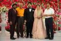 T Rajendar @ TR Kuralarasan Nabeelah R Ahmed Wedding Reception Stills