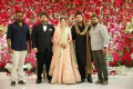 Sakthivelan, T Rajendar, KE Gnanavel Raja @ TR Kuralarasan Nabeelah R Ahmed Wedding Reception Stills