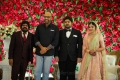 T Rajendar, Sathyaraj @ TR Kuralarasan Nabeelah R Ahmed Wedding Reception Stills