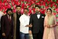 T Rajendar, Simbu, Seeman @ TR Kuralarasan Nabeelah R Ahmed Wedding Reception Stills