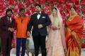 T Rajendar, Goundamani @ TR Kuralarasan Nabeelah R Ahmed Wedding Reception Stills