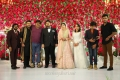 T Rajendar, STR, Mansoor Ali Khan @ TR Kuralarasan Nabeelah R Ahmed Wedding Reception Stills