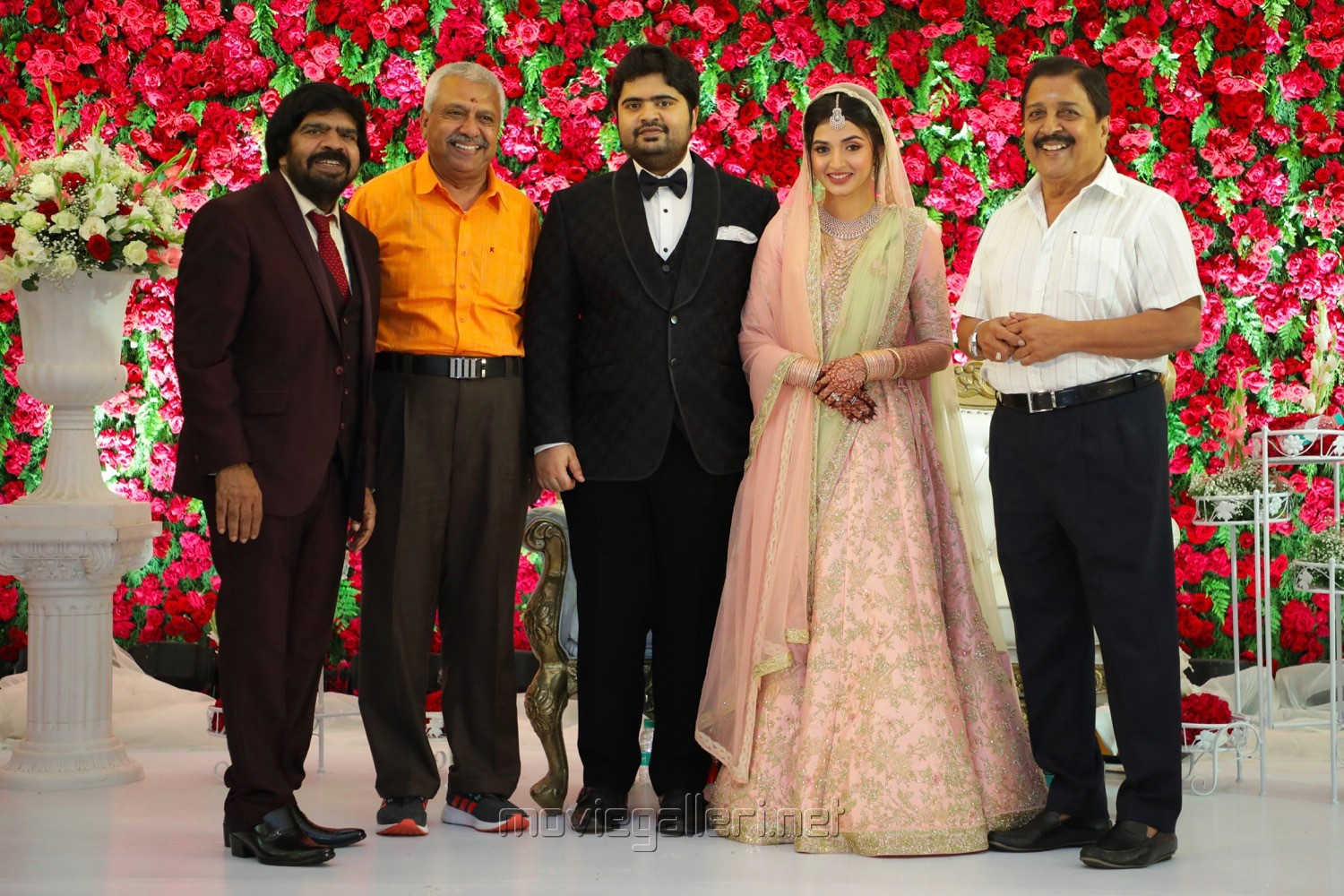 T Rajendar @ TR Kuralarasan Nabeelah R Ahmed Wedding Reception Stills