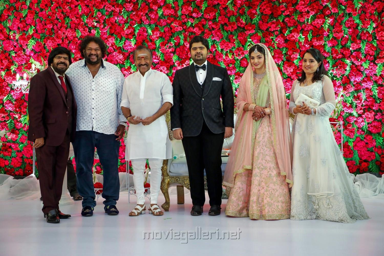 T Rajendar, Srikanth, Deva @ TR Kuralarasan Nabeelah R Ahmed Wedding Reception Stills