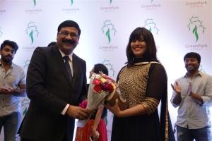 G Ravi Kumar, Varalakshmi SarathKumar @ Hotel Green Park Traditional Cake Mixing Ceremony Stills