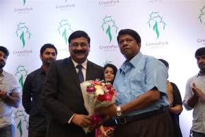 G Ravi Kumar, Janagaraj @ Hotel Green Park Traditional Cake Mixing Ceremony Stills