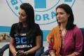 Trisha, Amala at Blue Cross Building Launch Stills