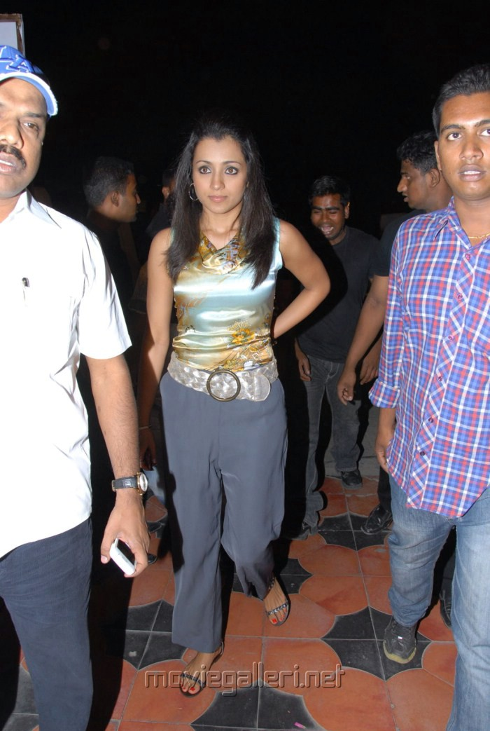 Trisha at Dammu Audio Release