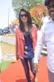 Actress Trisha Krishnan Stills @ H Production Prod.No.6 Muhurat