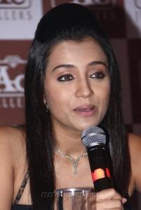 Actress Trisha at NAC Jewellers Press Conference Stills