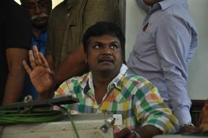 Director Sundar Balu @ Garjanai Movie Working Stills