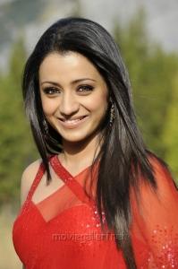 Hot Trisha Krishnan Saree Photos