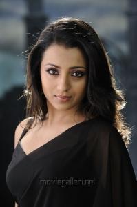 Trisha Krishnan Hot in Saree Pics