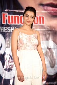 Actress Trisha Krishnan Pics @ Mohini Movie Pre Release Function