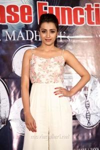 Actress Trisha Krishnan Pics @ Mohini Pre Release Function