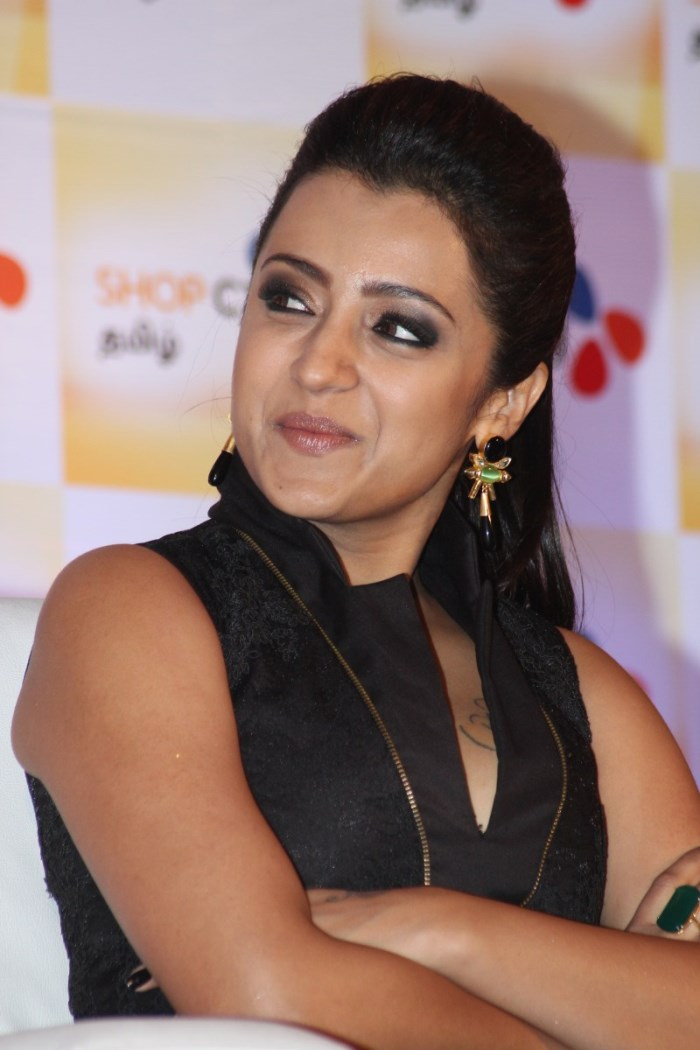 Picture 1002633 Actress Trisha Krishnan Launches Shop Cj