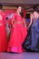 Pranitha Subhash @ Trisha Love for Handloom Fashion Show at Taj Krishna, Hyderabad