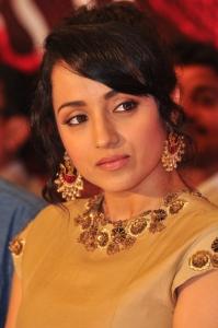 Actress Trisha Images at Nayaki Movie Press Meet