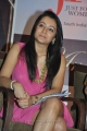Trisha Krishnan New Images in Pink Mini Skirt