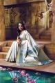 Beautiful Trisha Pothys Silk Saree Photo Shoot Stills