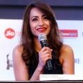 Actress Trisha Krishnan Stills @ 65th Jio Filmfare Awards (South) Press Conference