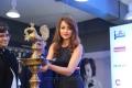 Actress Trisha Stills @ 65th Jio Filmfare Awards (South) Press Conference