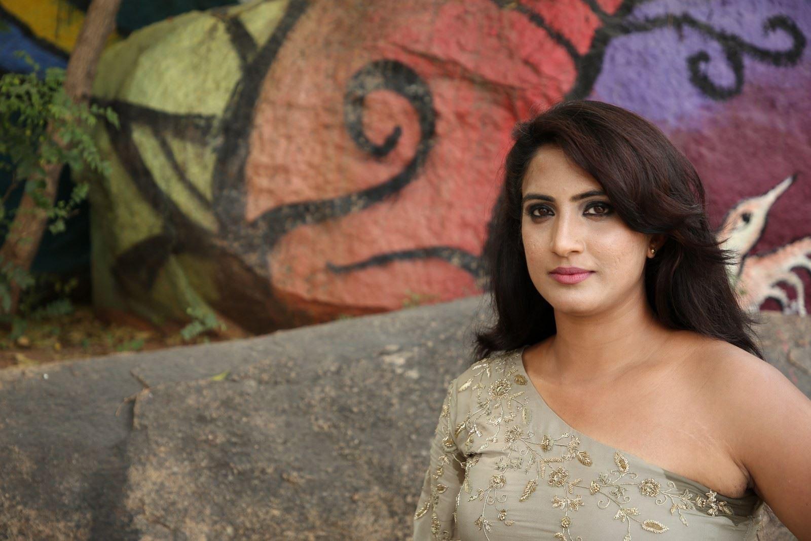 Model Triveni Rao Photos @ Elite New Year Eve Ticket Launch