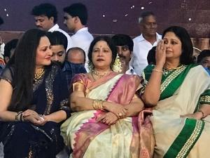Jayaprada, Jayachitra, Jayasudha @ T Subbarami Reddy Birthday Celebrations in Vizag Photos