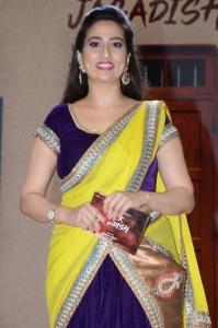 Anchor Manjusha @ Tuck Jagadish Movie Trailer Launch Stills