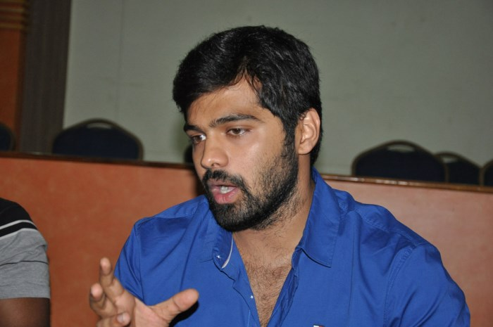 Tungabhadra Movie Hero Adith Interview Stills