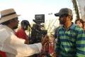 Santosh Sivan, AR Murugadoss atTupaki Telugu Movie Shooting Spot Stills