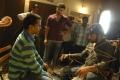 AR Murugadoss, Gautam Kurup at Tupaki Telugu Movie Shooting Spot Stills