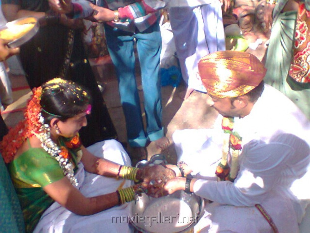 Tamil TV Serial Ilavarasi Wedding Photos