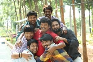 Rajendra Prasad, Richard Rishi, Dhanraj, Krishnudu, RJ Hemanth, Khayyum in Oollo Pelliki Kukkala Hadavidi Movie Stills HD