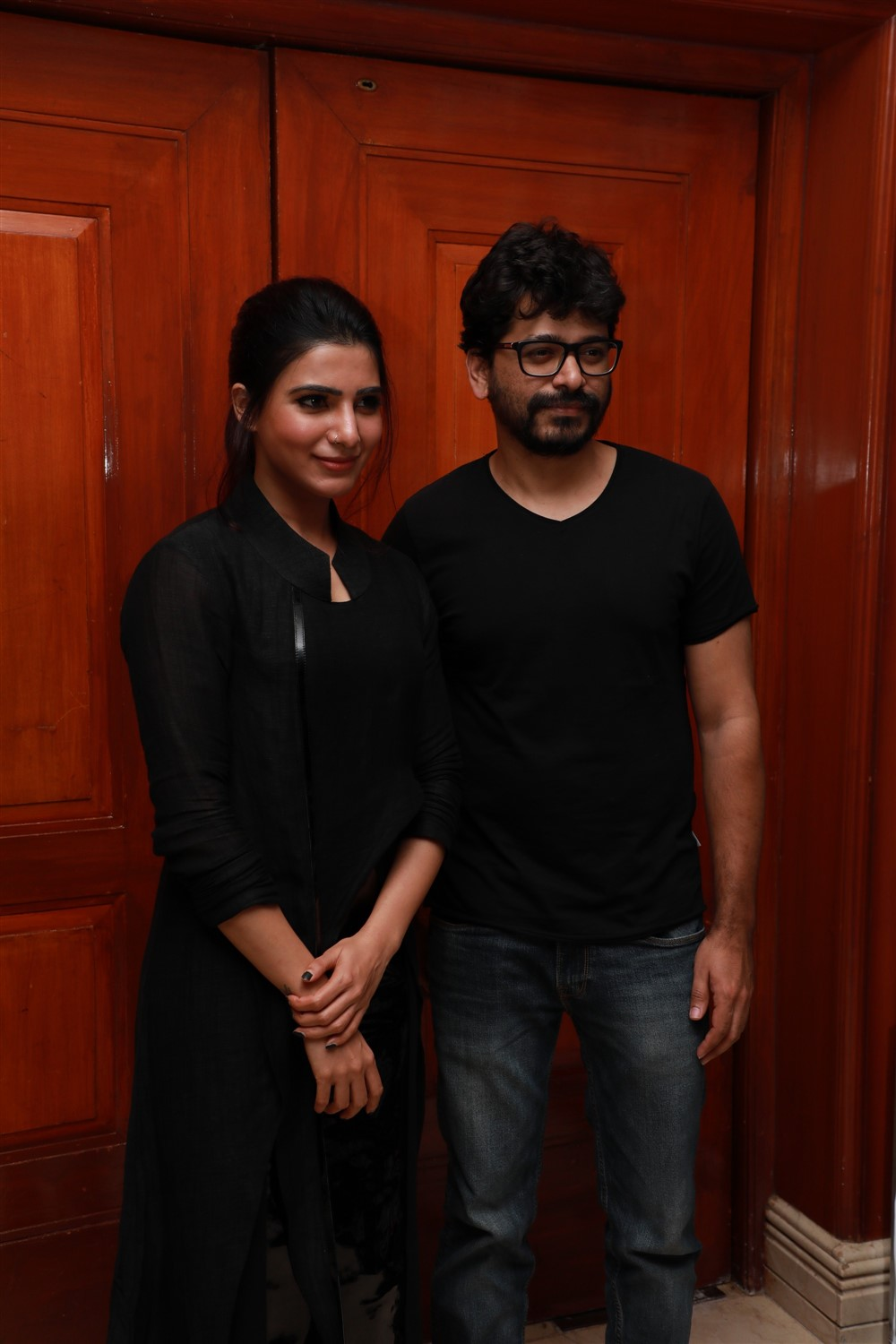 Samantha, Pawan Kumar @ U Turn Movie Press Meet Photos