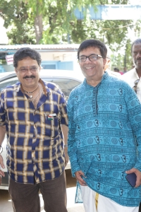 SV Sekar, YG Mahendran @ UAA Ennum Aalamaram Book Launch Stills