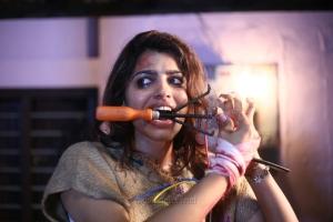 Heroine Sai Dhanshika in Uchakattam Movie Stills HD
