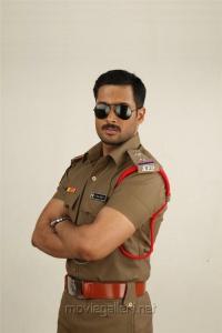 Hero Uday Kiran as Police Officer in Jai Sriram Movie