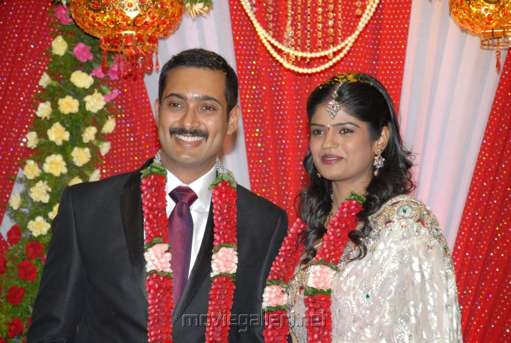 Actor Uday Kiran Marriage Reception Stills