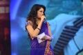 Beautiful Actress Udaya Bhanu Photos in Blue Half Saree