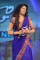 Udaya Bhanu in Blue Saree Photos @ Adda Audio Launch