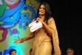 Udaya Bhanu in Silk Saree Photos