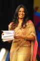 Udaya Bhanu in Saree @ Snehithudu Audio Release