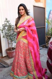Anchor Udaya Bhanu Saree Latest Pics @ Nari Lokam Mega Kitty Party