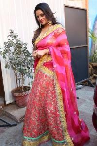 Actress Udaya Bhanu Latest Saree Pics @ Nari Lokam Mega Kitty Party