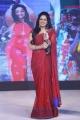 Anchor Udaya Bhanu in Red Saree Photos @ Nakshatram Audio Launch