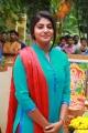 Actress Manjima Mohan @ Lyca Productions No 9 Movie Pooja Stills