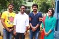 Director Gaurav Narayanan, Producer Raju Mahalingam, Actor Udhayanidhi Stalin & Actress Manjima Mohan