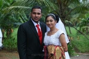 Actress Udhayathara Jubin Joseph Marriage Stills