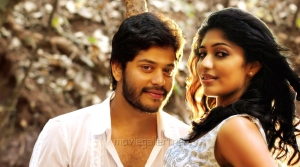 Tejus, Samyukta Hornad in Ulavacharu Biryani Movie Stills